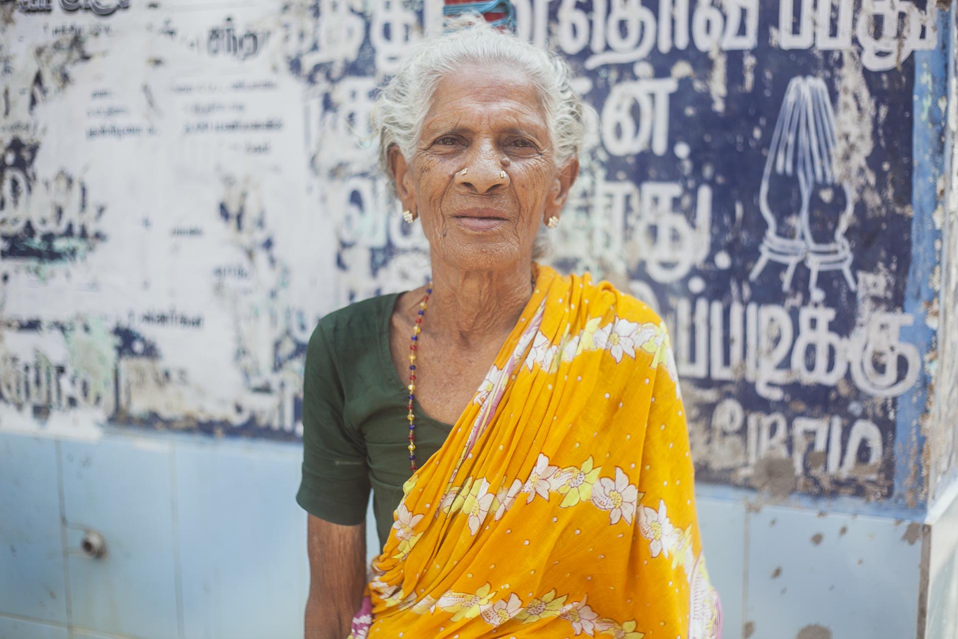 kobieta w Indiach